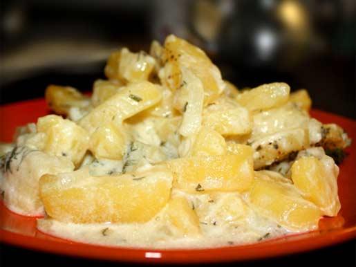 Картошка с грибами жареная на сковороде со сметаной рецепт с пошагово