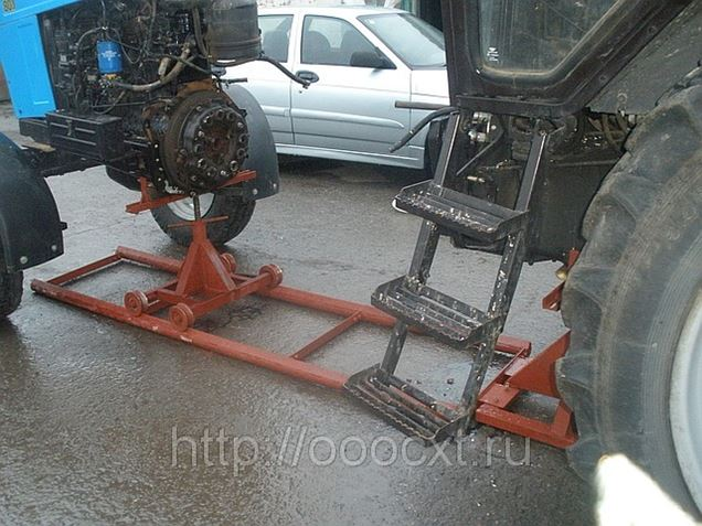 Приспособление для раскатки трактора мтз 80 своими руками 47