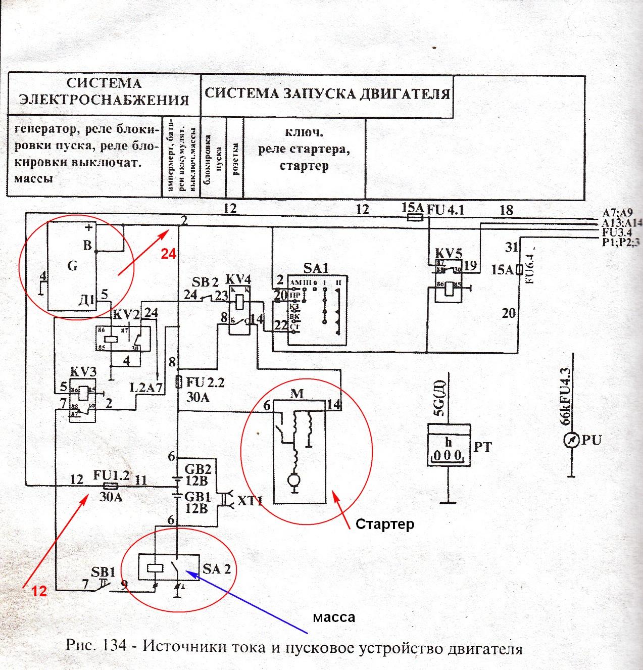 Электрическая схема комбайна нива эффект