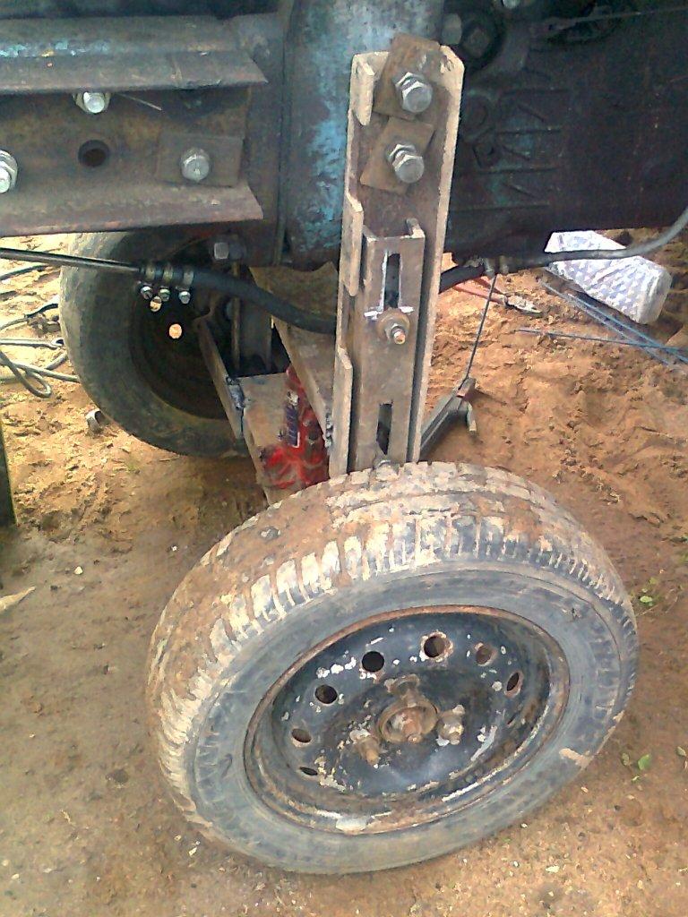 Приспособление для раскатки трактора мтз 80 своими руками 83