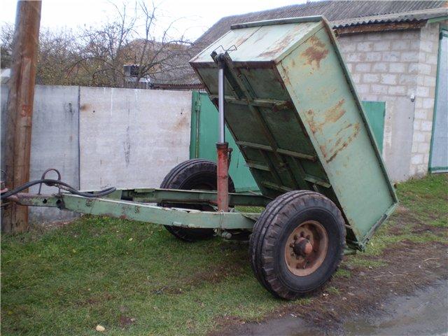 Прицепы для трактора своими руками