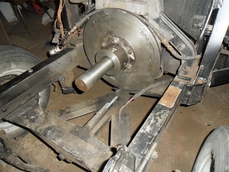 Как сделать на самодельному трактору сцепление 186