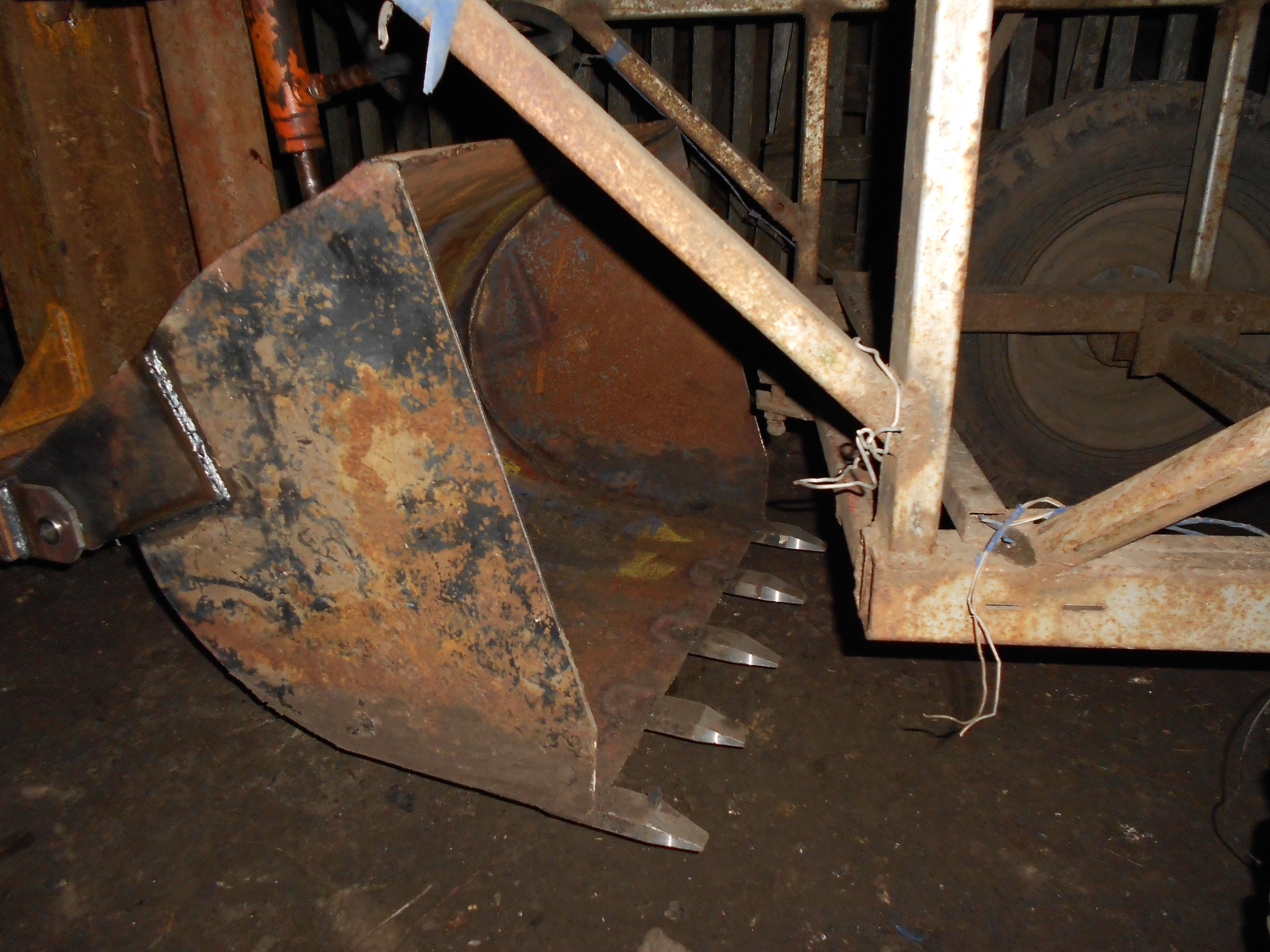 Как сделать самодельный ковш для трактора