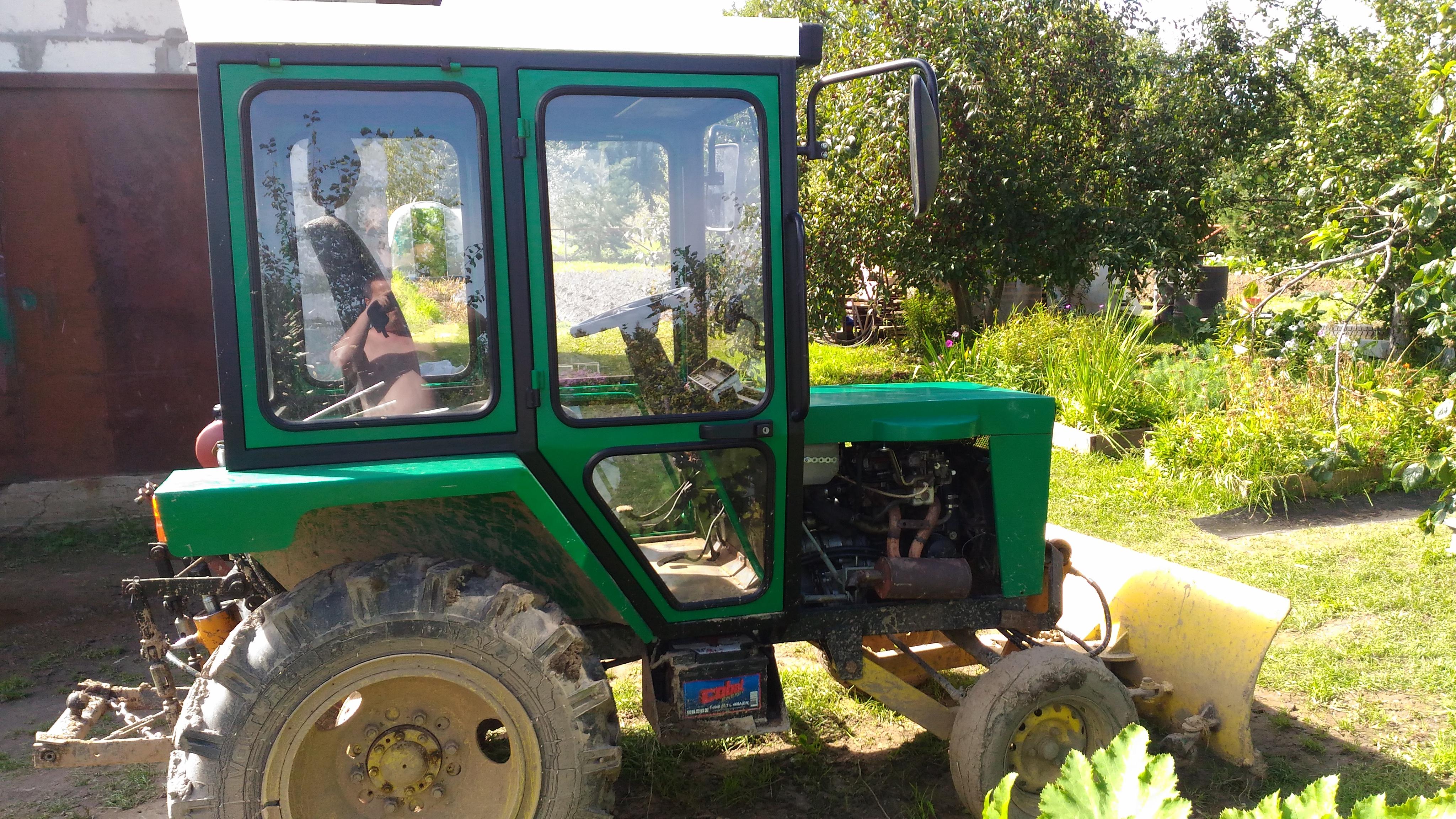 самодельные кабины для тракторов с фото стол получил