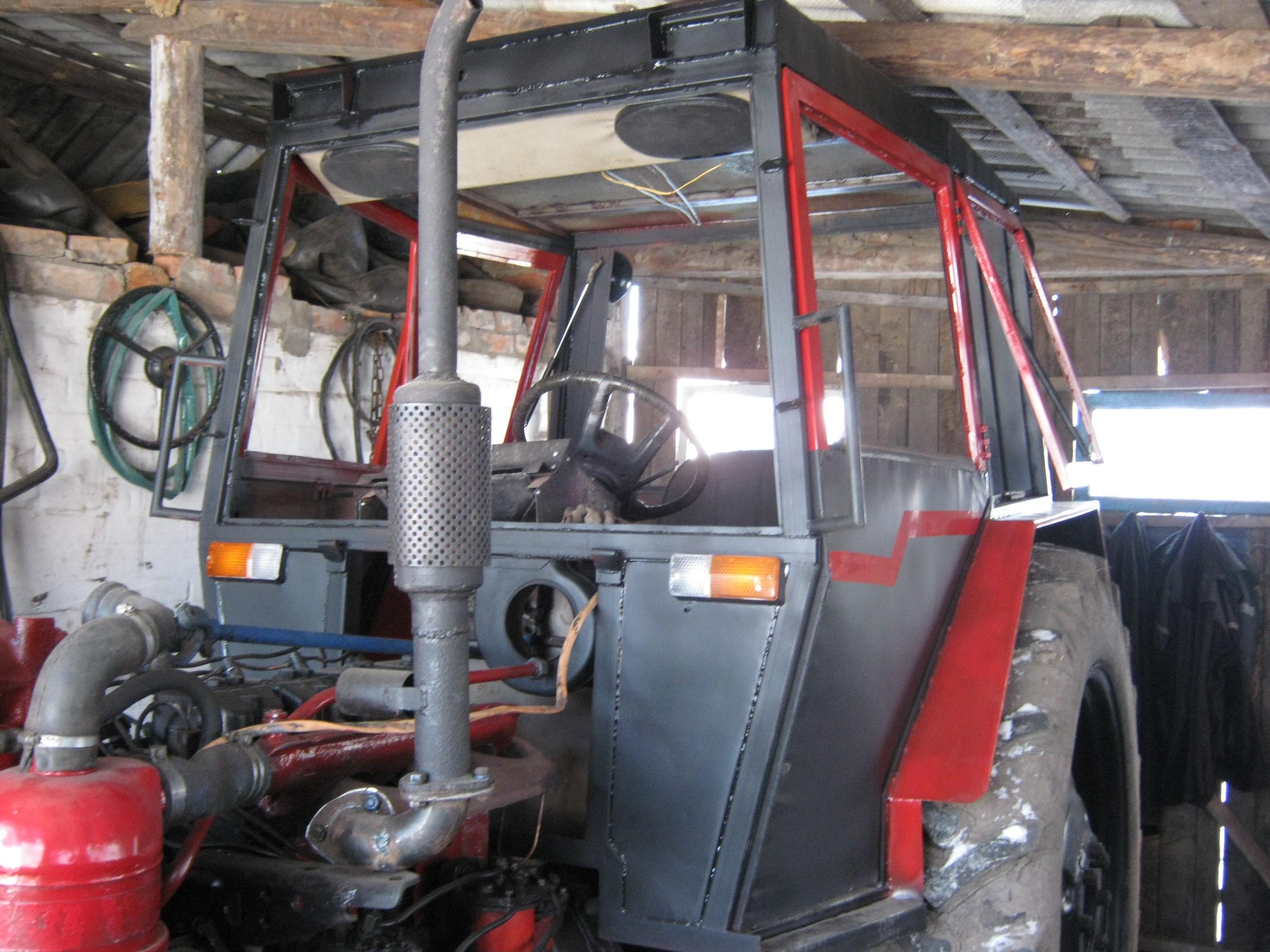 автомобилях самодельные кабины для тракторов с фото реестр