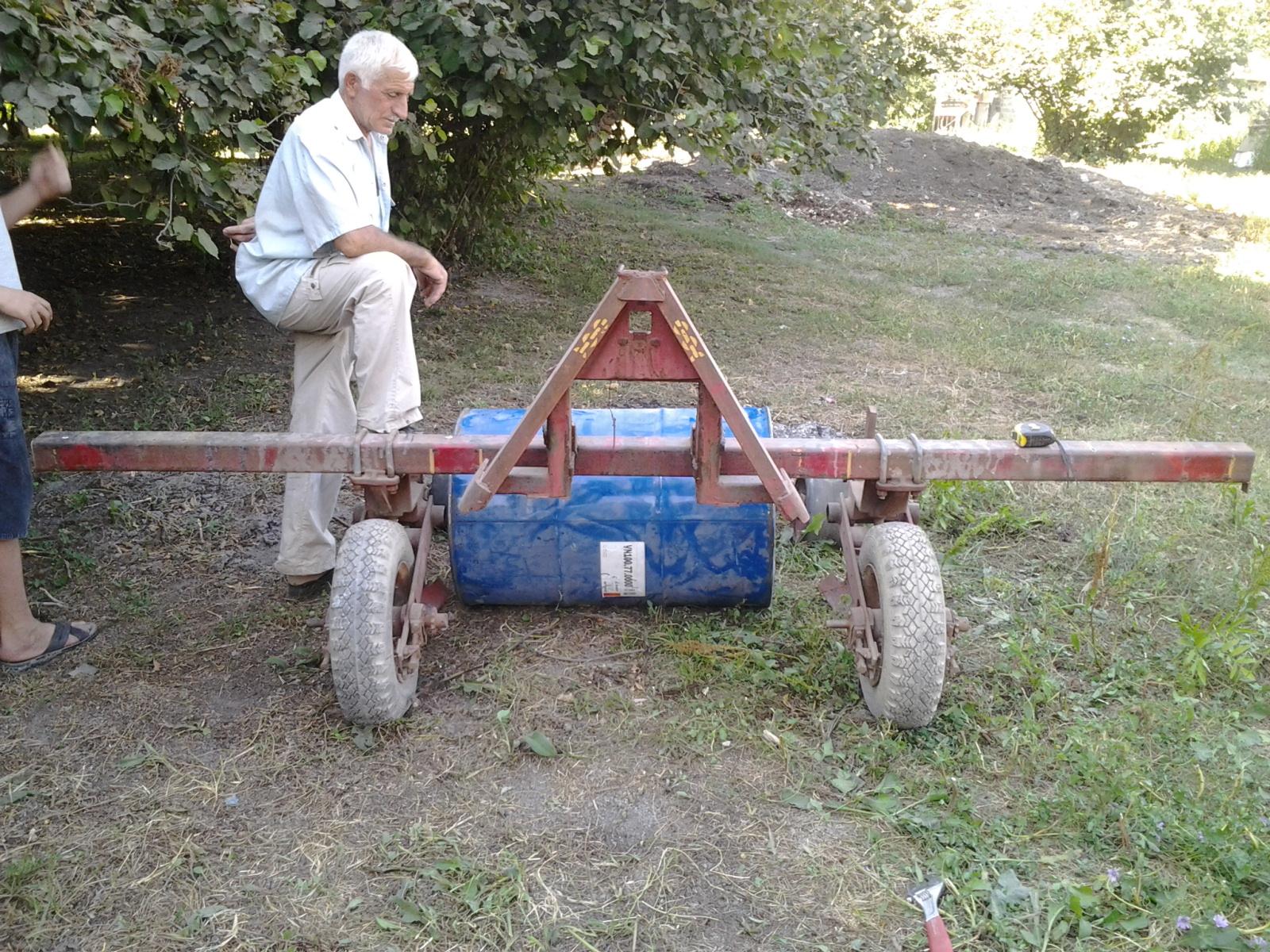 Сеялка для трактора своими руками